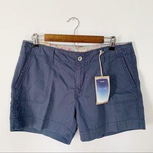 Levi's Mid rise Blue Shorts Sz 10